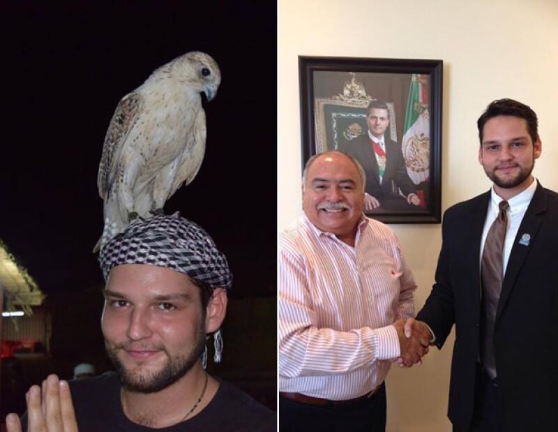 Alesh Ancira, un joven yucateco de 25 años, ha logrado lo que pocos, trabajar de la mano con diversas compañías árabes y concretar alianzas con su agencia de publicidad en México.