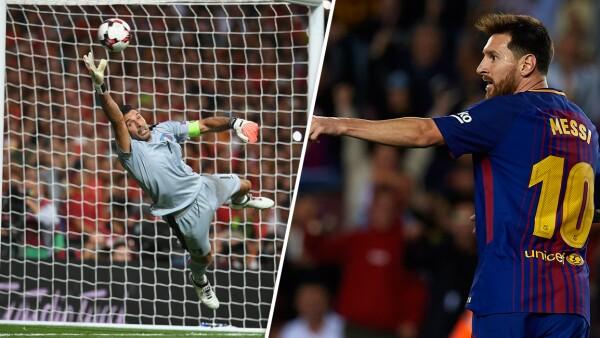 Buffon vs Messi
