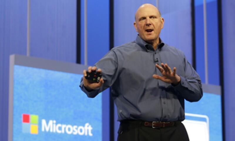 Steve Ballmer dirigió a Microsoft durante el estallido de la burbuja de las puntocom.  (Foto: AP)