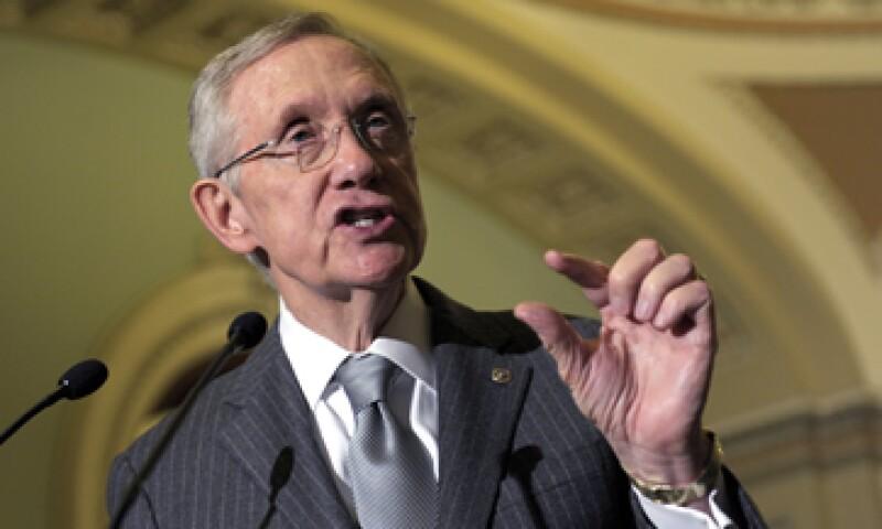El abismo fiscal es hacia donde parece que vamos, dijo Reid. (Foto: AP)