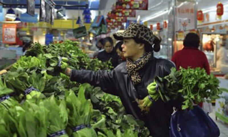 Pese al avance, la inflación china quedó por debajo de la meta del Banco Central del 4%.  (Foto: Reuters)