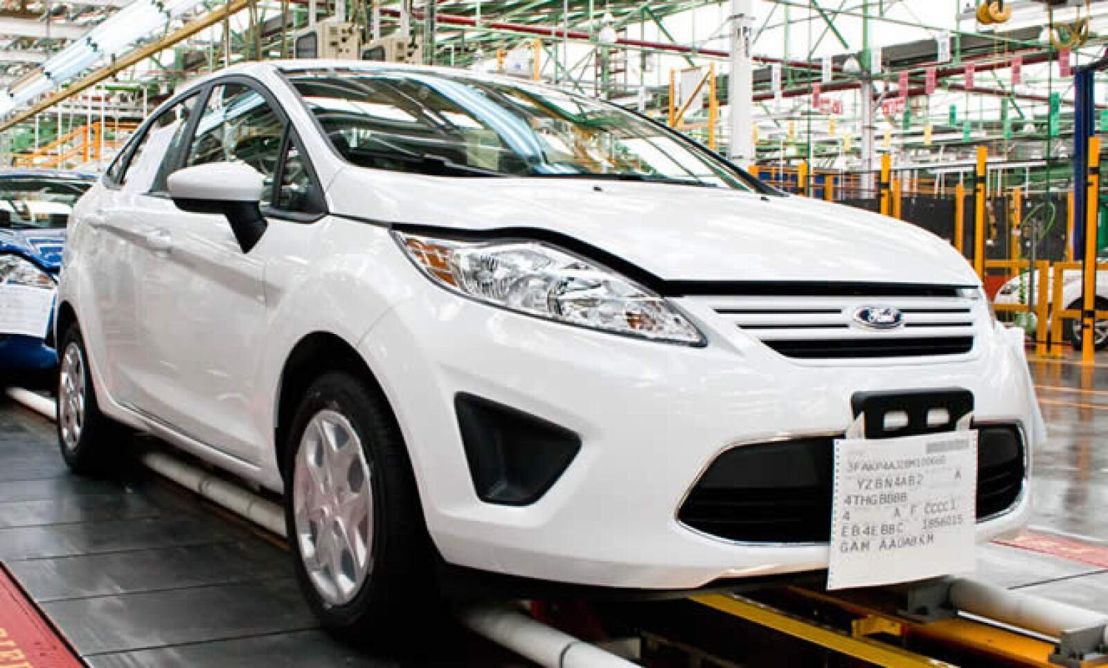 Ford Fiesta se ha convertido en el auto compacto de mayor venta en Europa y el Reino Unido en los últimos dos años, según la automotriz.