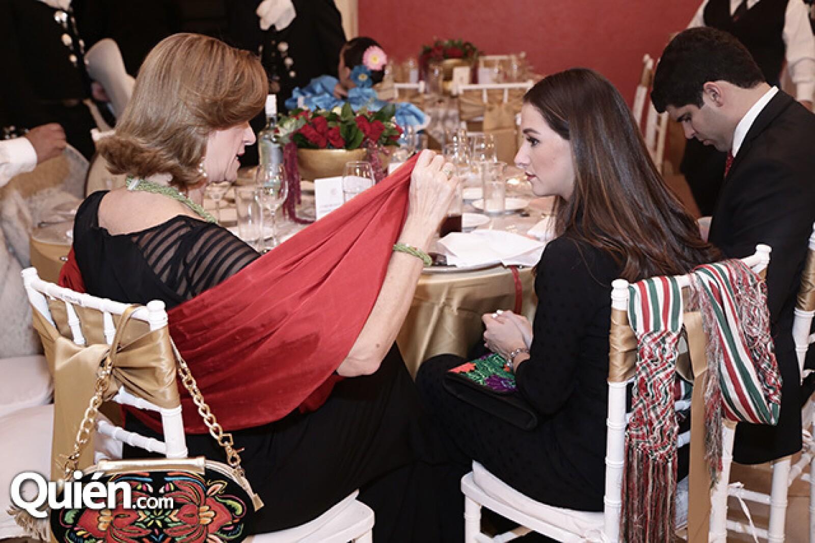 Laura Heredia y María Mayans