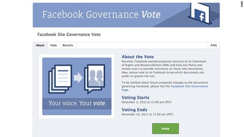 voto facebook