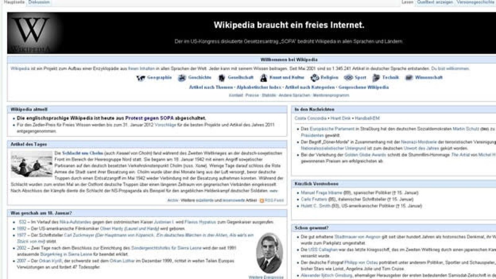 wikipedia aleman sopa apagon