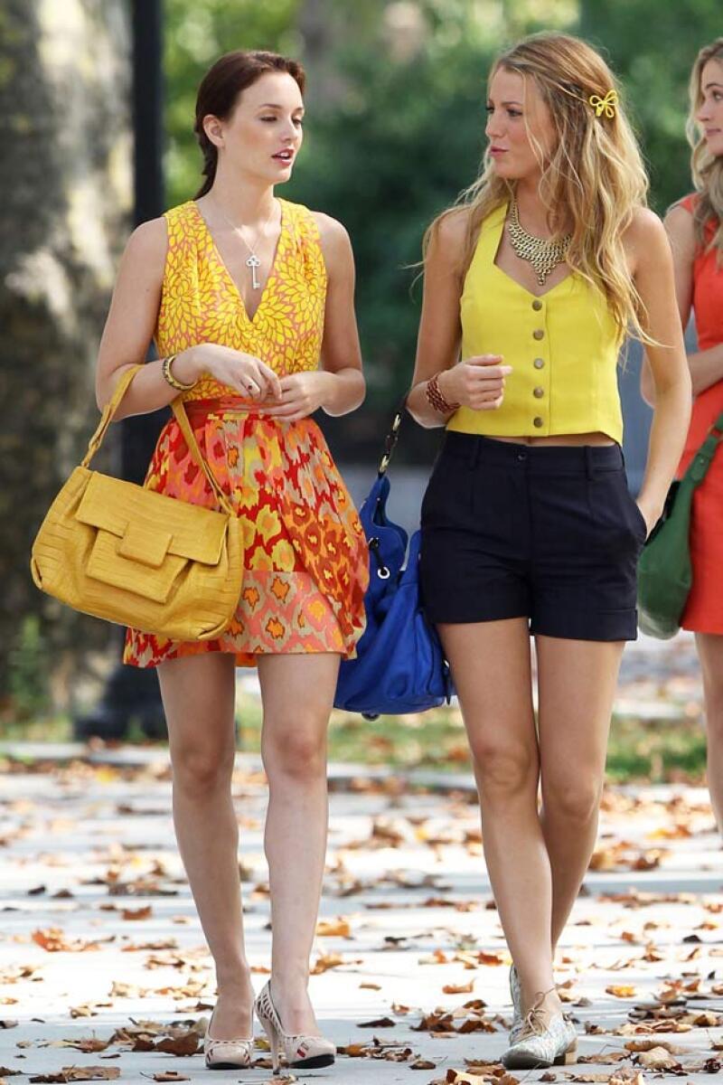 Leighton y Blake dejaron de ser amigas debido a que Blake jamás felicitó a Leighton por su compromiso con Adam.