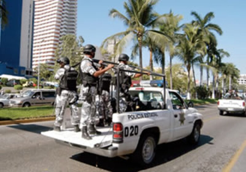 La inseguridad en Acapulco atrajo la atención de funcionarios en EU. (Foto: PROCESOFOTO)