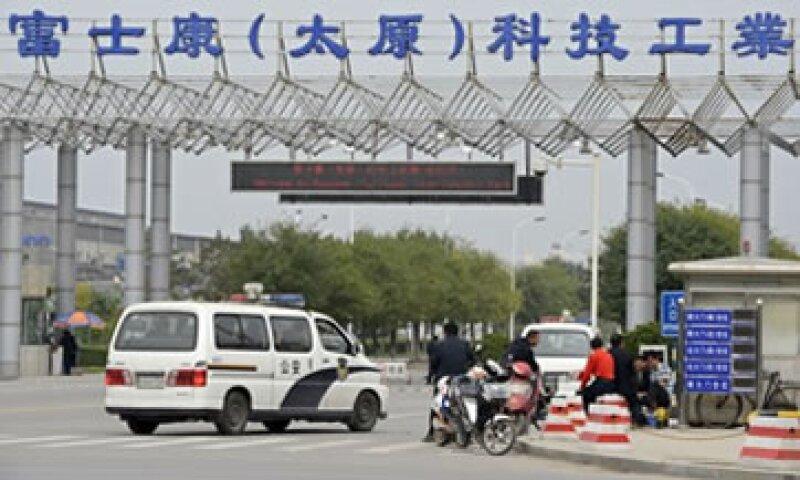 Foxconn dijo que los disturbios provocaron que 5,000 policías fueran enviados al lugar.  (Foto: Reuters)