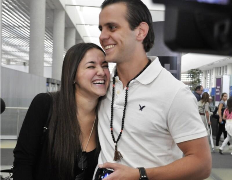 Sherlyn y Medina Mora fueron vistos muy sonrientes.