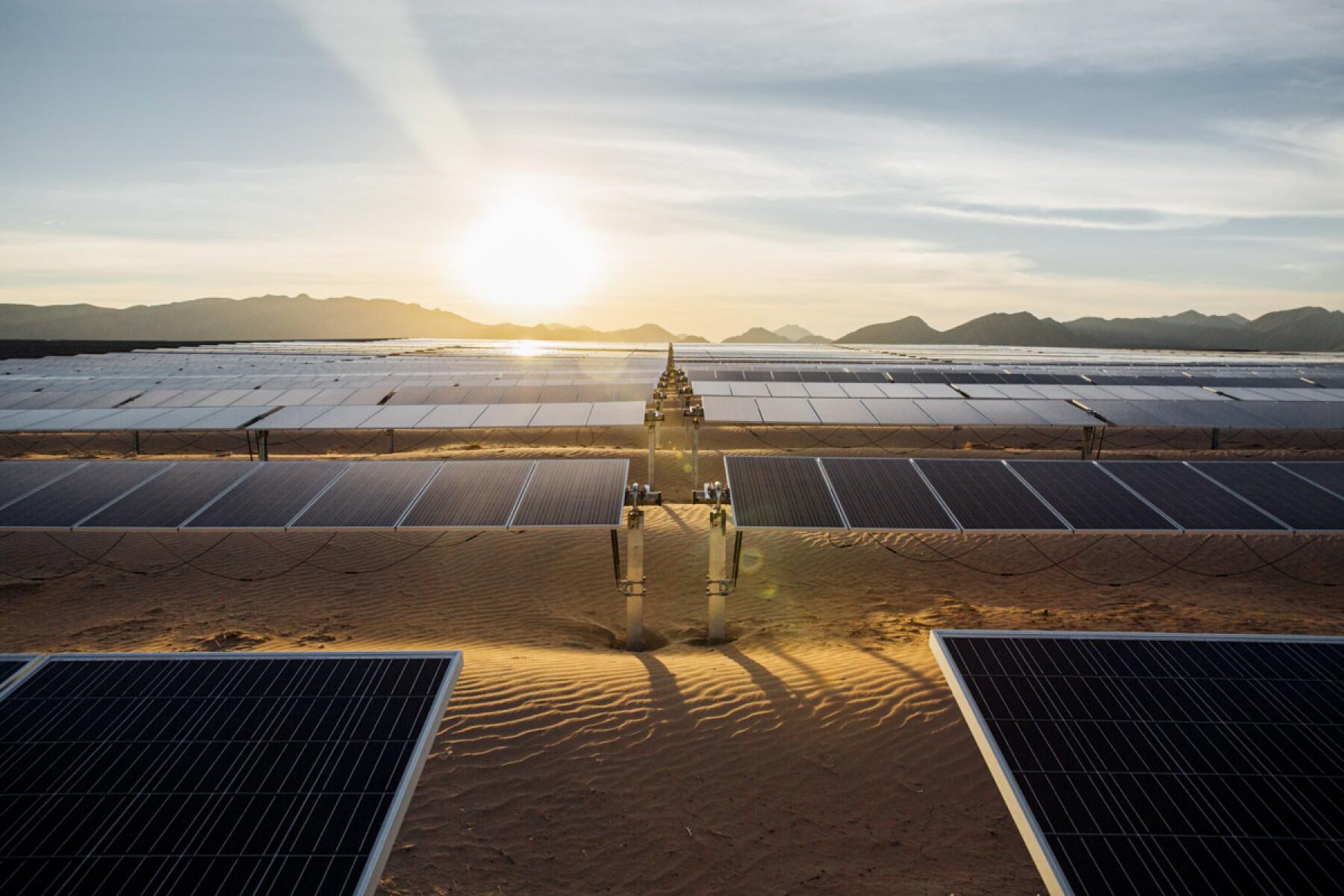 Parque fotovoltaico ENEL