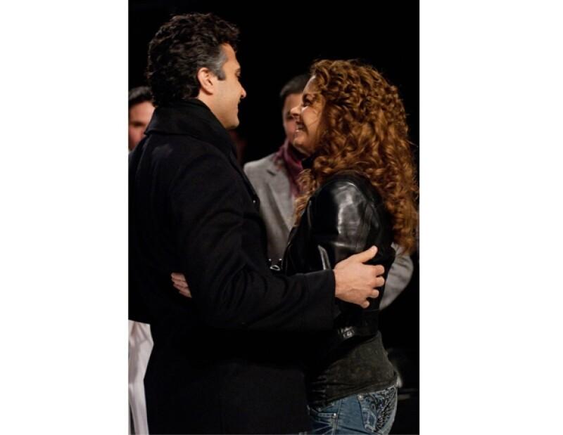Jaime Camil se dijo muy agradecido con Lucero, por ser ella quien lo incluyera en su primer proyecto en televisión.