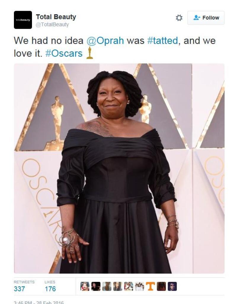 Un sitio de belleza confundió a la actriz con la presentadora.