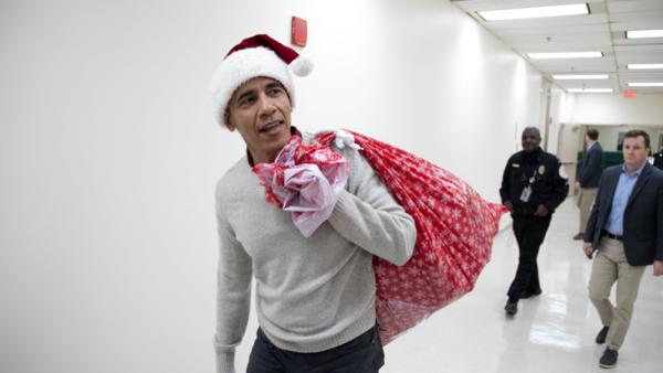 El exmandatario visitó esta mañana el Children's National Hospital, en Washington. (Foto: Children's  National)