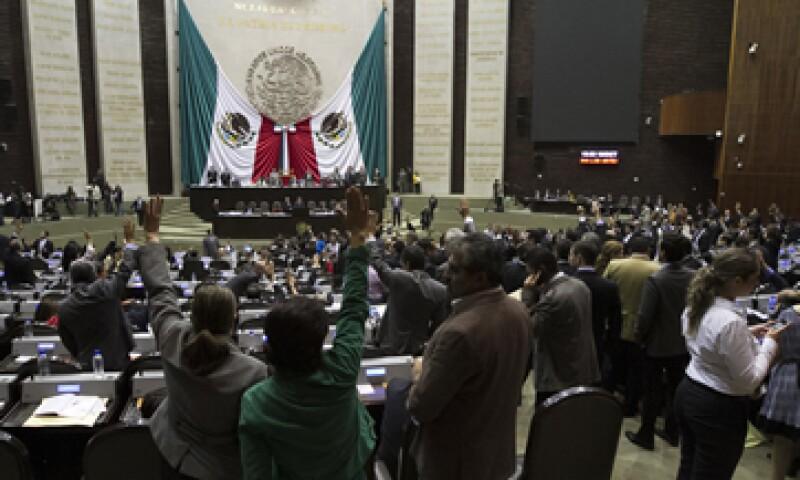 Los diputados aprobaron el dictamen con 423 votos a favor, 48 en contra y nueve abstenciones (Foto: Notimex)