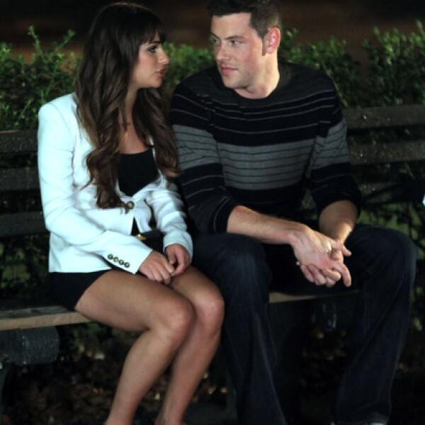 Luego de meses de especulaciones, en marzo de 2012 se confirmó el romance de Lea y Cory cuando la pareja llegaba al aeropuerto de Los Ángeles, California, en una actitud cariñosa.