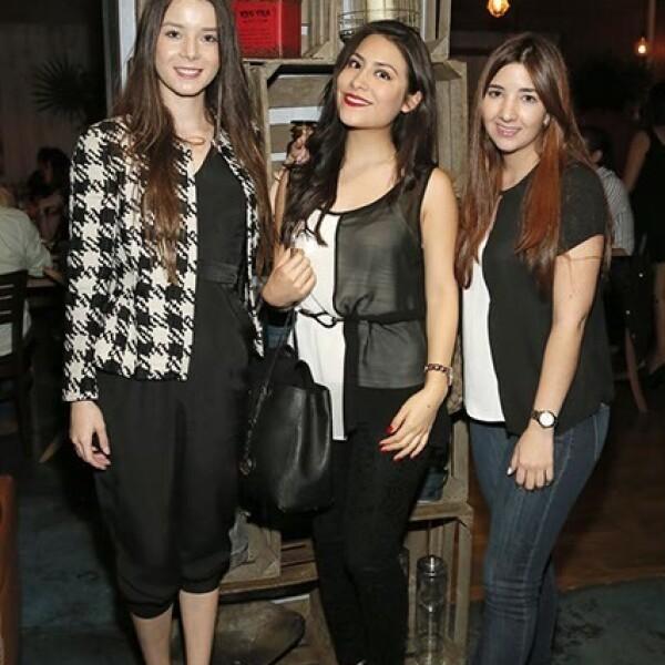 Sofía Lasso,Vanessa del Olmo y Andrea Ruiz