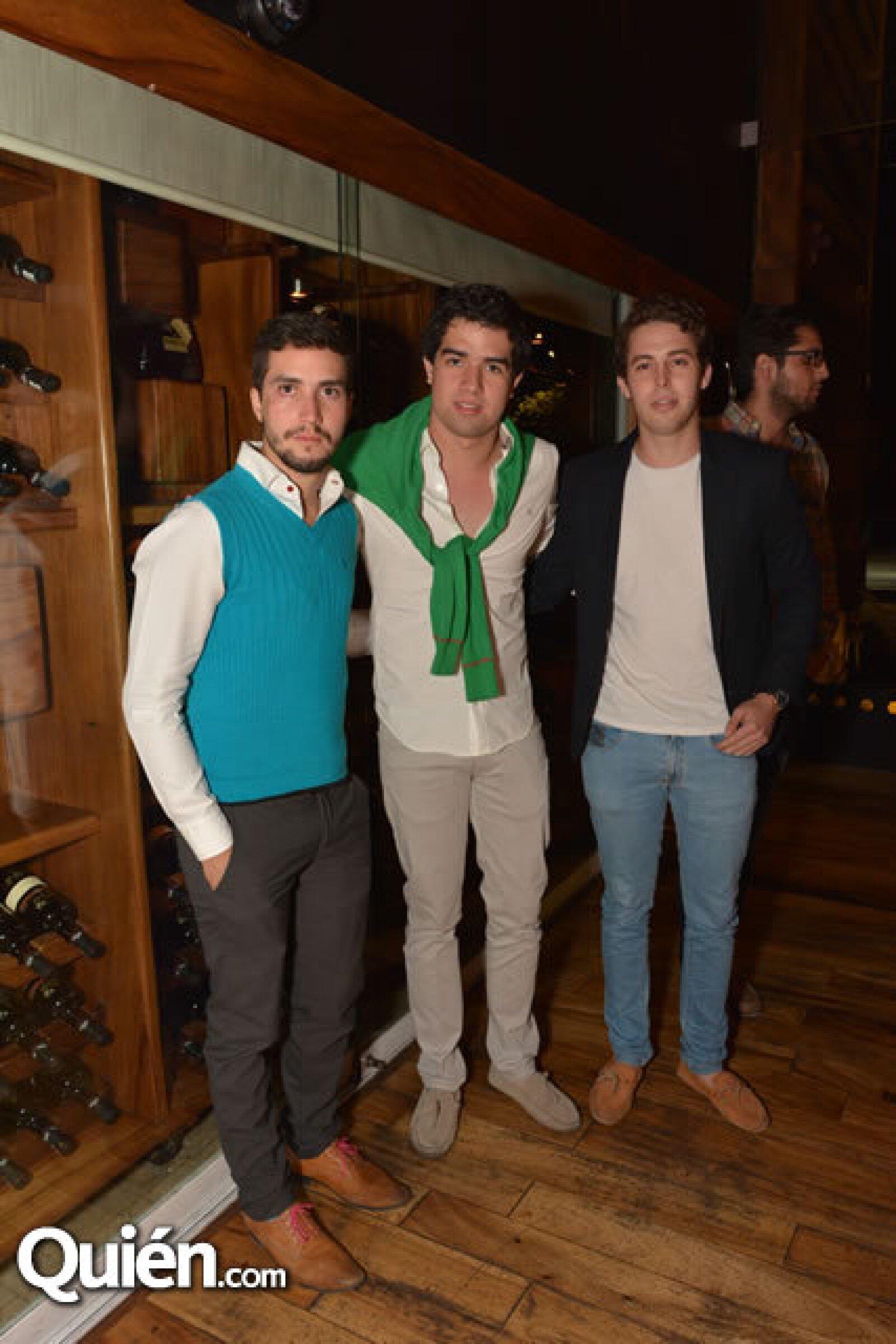 Juan Carlos Díaz,Francisco Acevedo,Rodrigo Barba