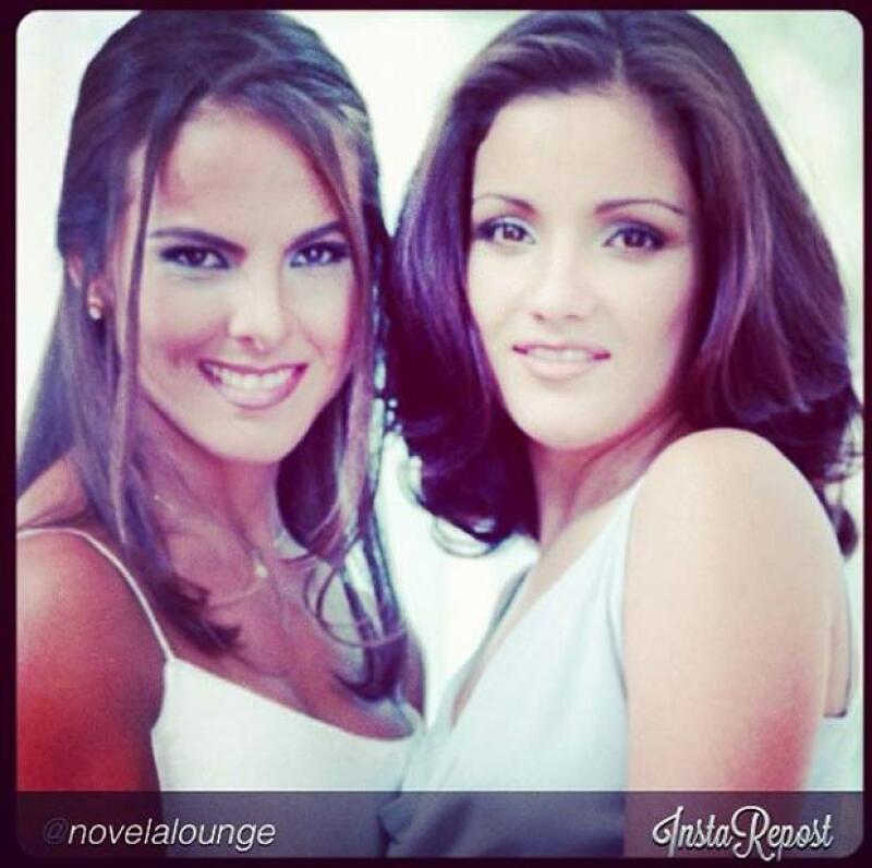 Kate del Castillo recordó los momentos que pasó junto a Karla durante la grabación de La mentira.