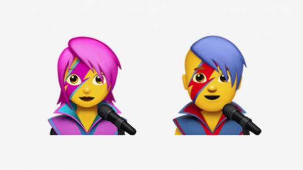 Emojis David Bowie