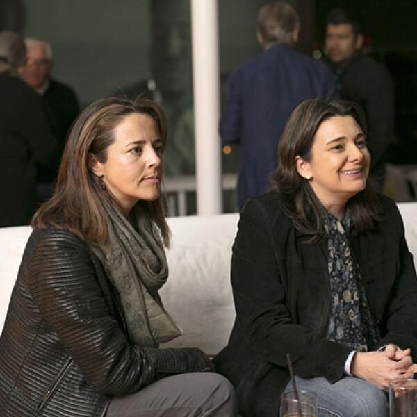 Elisa Ramírez y Sofía Romano