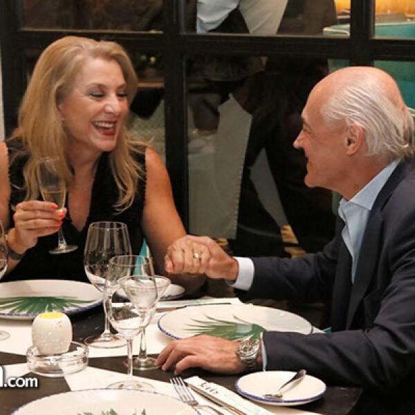 Graciela Capin y Edgardo Mendoza