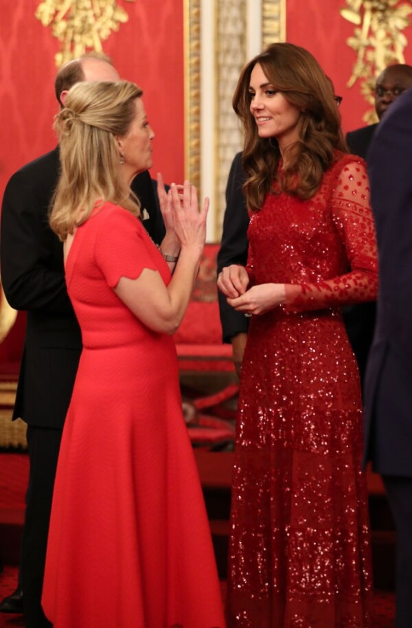 Sophie de Wessex y Kate Middleton