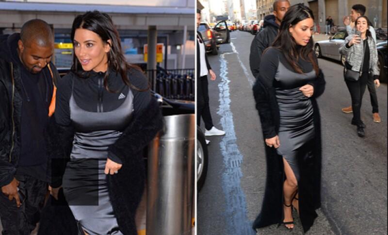 Si creías que nada podía superar ese vestido Givenchy floral del MET Gala, prepárate para ver el outfit que la esposa de Kanye West usó este fin de semana.