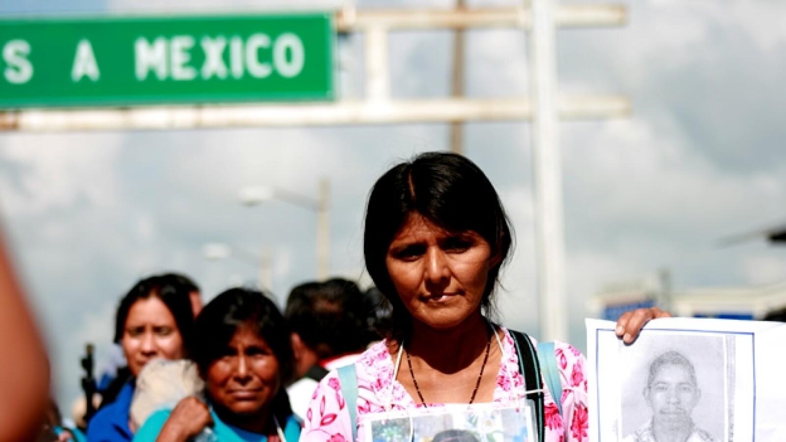 Llega a México la Caravana de madres de migrantes centroamericanas 3