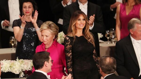 Hillary y Melania