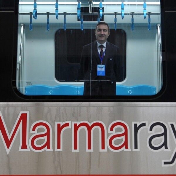 Marmaray tren Turquía 10