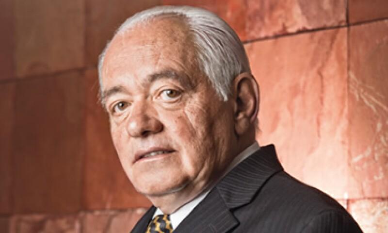 Ignacio Landa Ventosa fue director de la Industria de la Parafina, Unión de Crédito Nuevo Laredo y Banco Bicentenario. (Foto: Adán Gutiérrez )