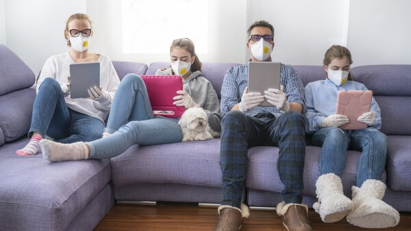 Coronavirus en casa - coronavirus - hogar - casa