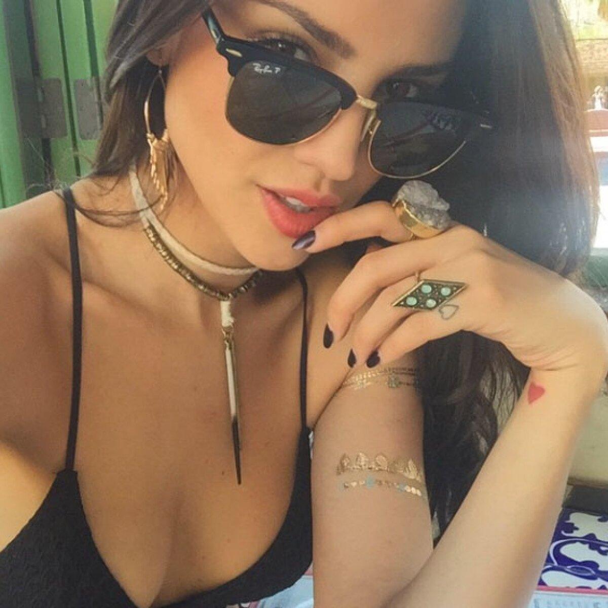 Eiza González, hot & stylish en Coachella