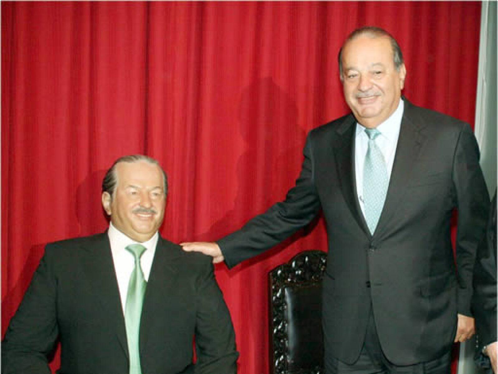 El magnate Carlos Slim se apodera del Museo de Cera de la Ciudad de México.