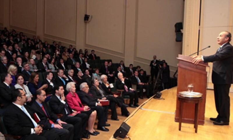 El presidente dijo que se enfocará en su familia luego de que deje Los Pinos. (Foto: Notimex)