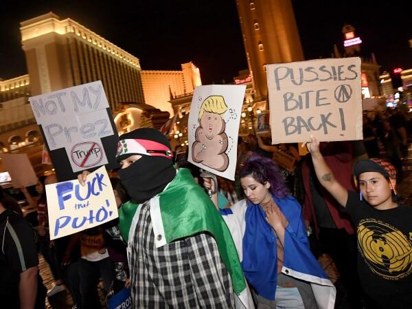 Protestas vs Trump