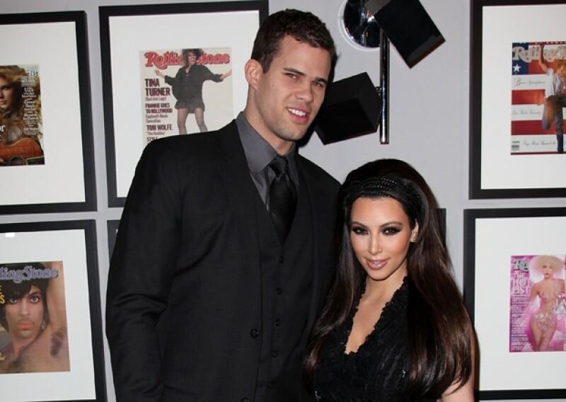 Kim le dio a su primer boda publicidad y glamour. ¿Cómo será con Kanye West?