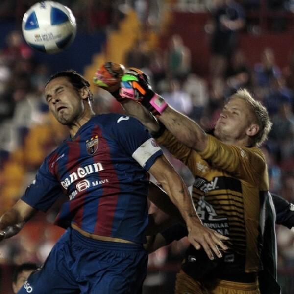 Los 'Potros' dominaron la mayoría del partido pero no fueron contundentes ante León