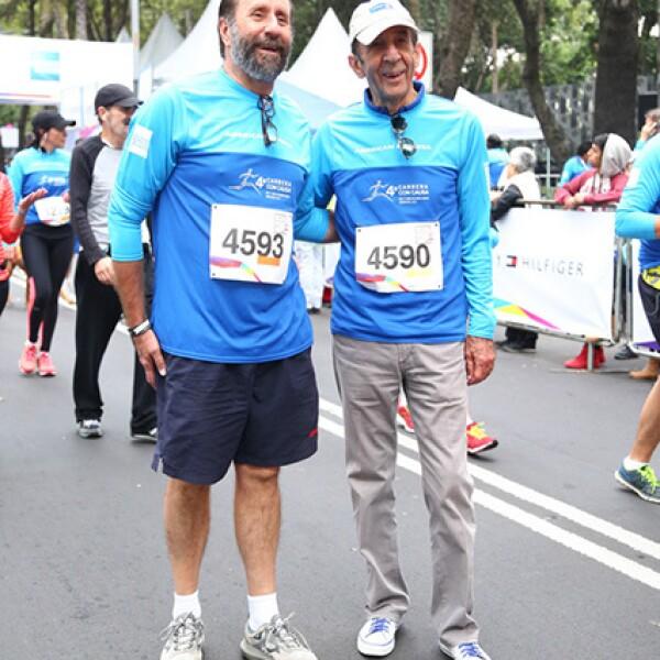 Walter Boelsterly y Manuel Arango