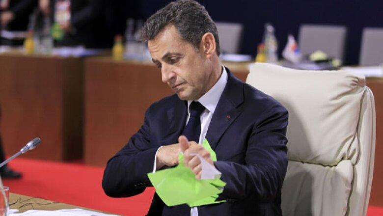 Francia encabeza la reunión de las 20 principales economías del mundo.