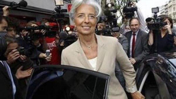 El Financial Times nombró a Lagarde la mejor ministra de finanzas de Europa en 2009. (Foto: Reuters)