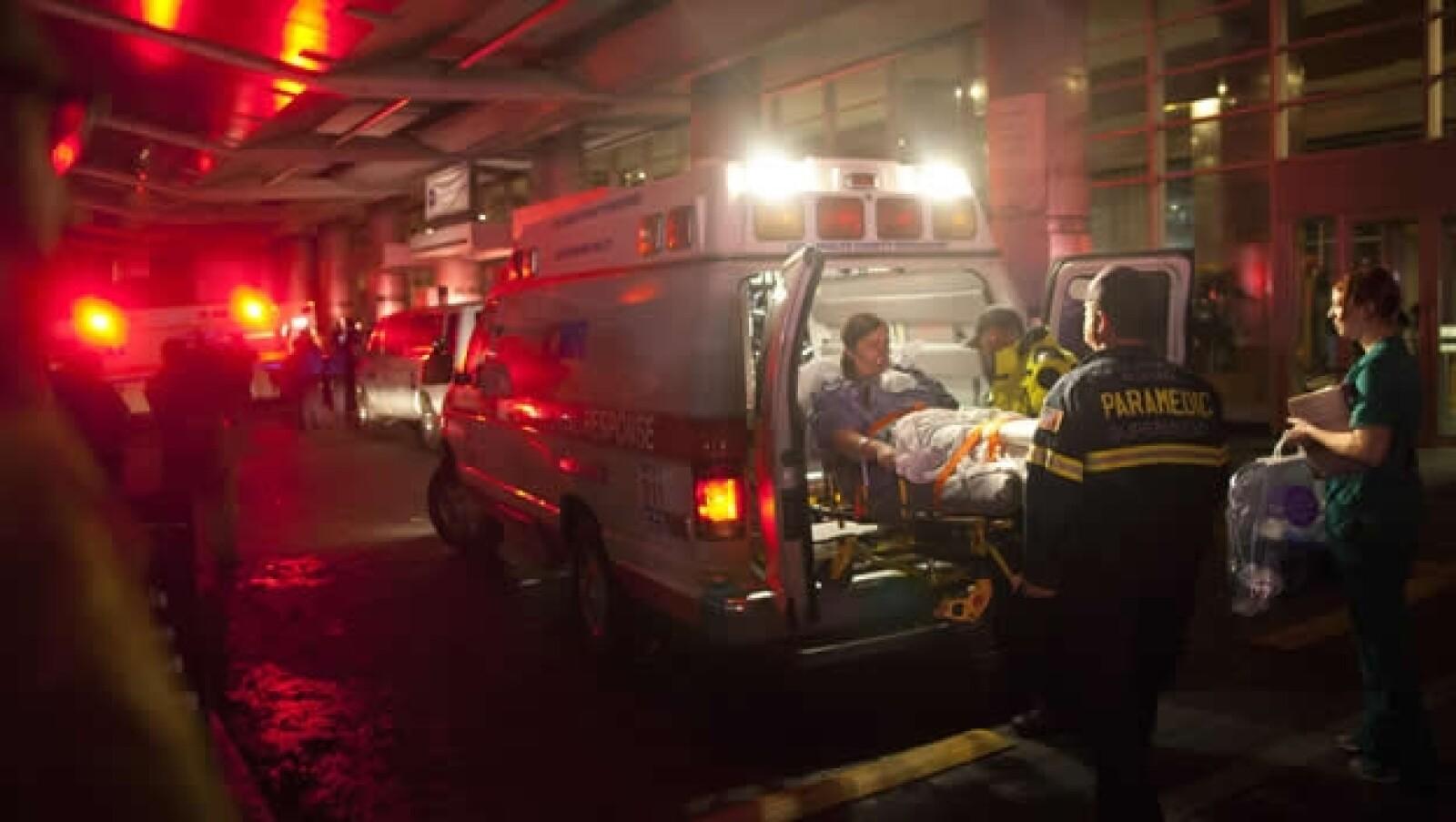Sandy traslado pacientes Universidad de Nueva York