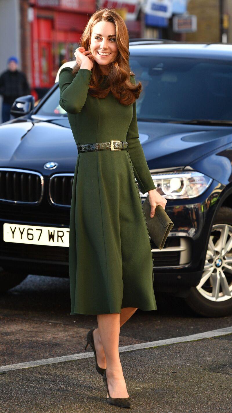 Catherine Duchess of Cambridge visits Family Action, Lewisham, London, UK - 22 Jan 2019