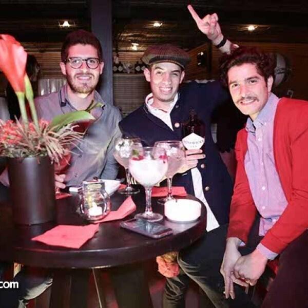 Roberto Avelard,Antares Torres y Juan de la Campa