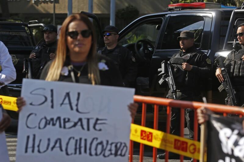 Protesta Desabasto Gasolina Jalisco.
