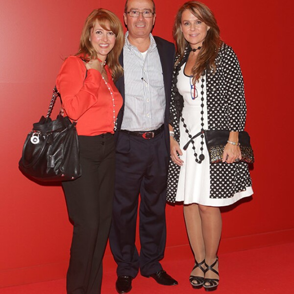 Lila Méndez, Secundino Burgos y Sandra Quintanero