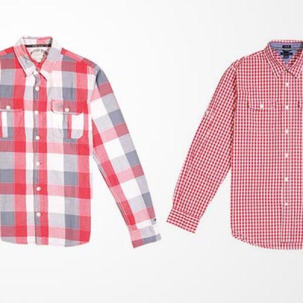 Dos camisas de vestir, con diferentes estilos, pueden levantar el estilo de tu 'outfit'.