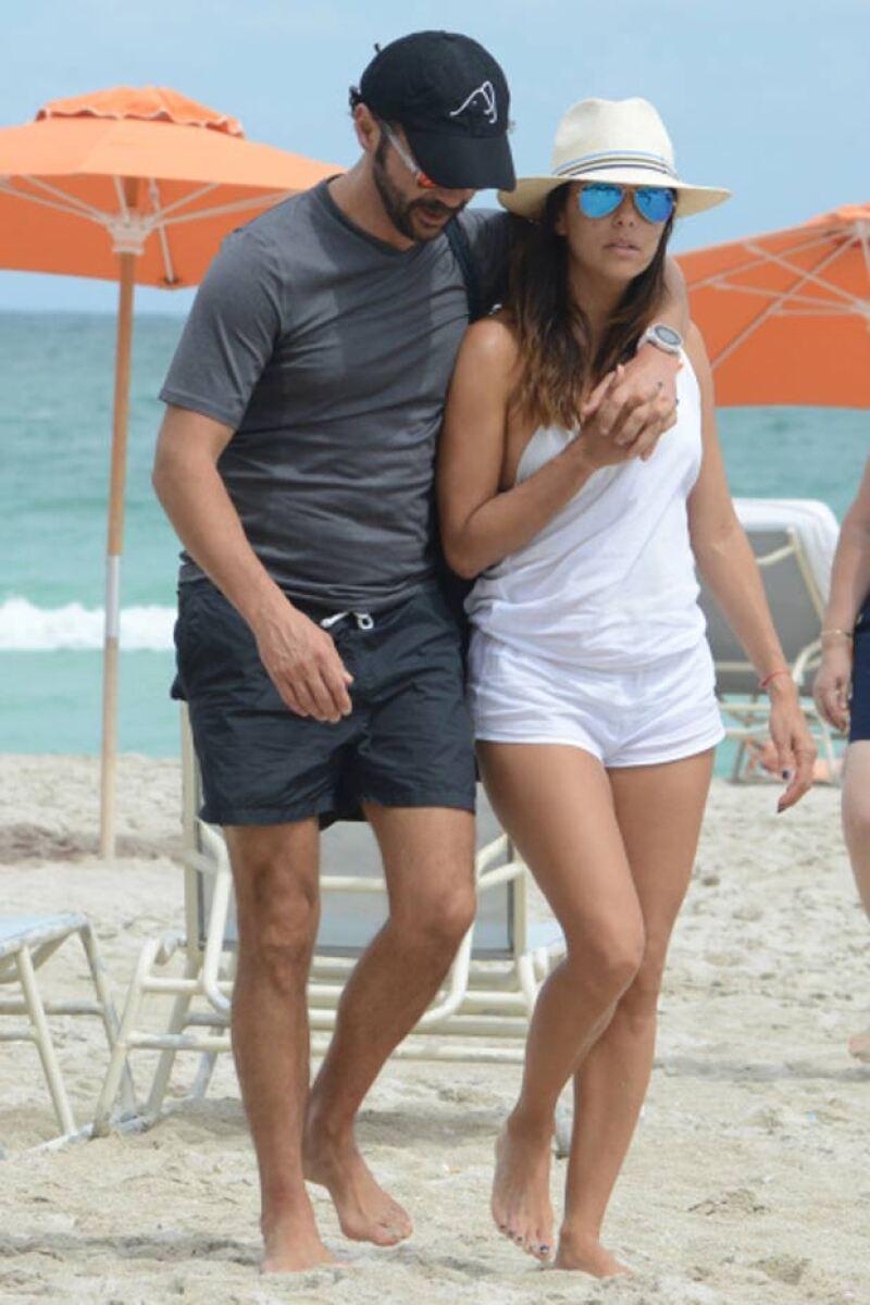 MIAMI. Pepe Bastón y Eva Longoria, no importa el evento ni la época del año, la nueva it couple disfruta al máximo de Miami.