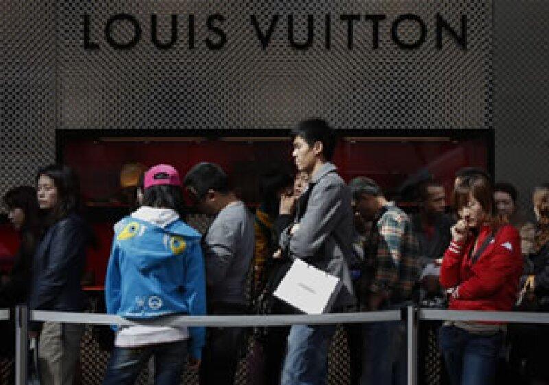 El buen desempeño económico de China es un mercado atractivo para las marcas de lujo. (Archivo)