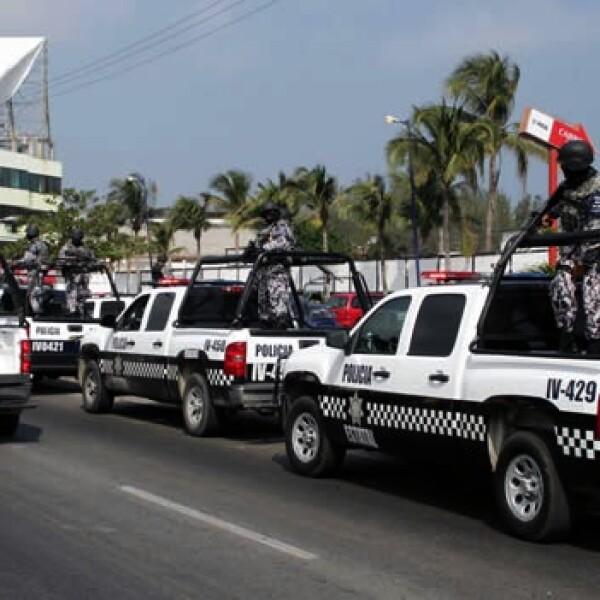 Marina Policía Intermunicipal Veracruz